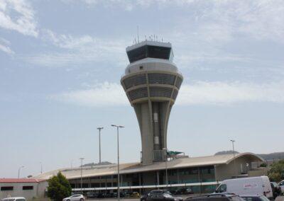 Torre de control del Aeropuerto Tenerife Norte